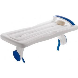 Badplank met zuignappen